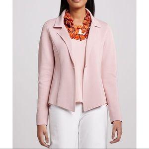 Eileen Fisher Sz M Knit Blazer Jacket EUC